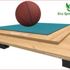 sàn gỗ sân bóng rổ